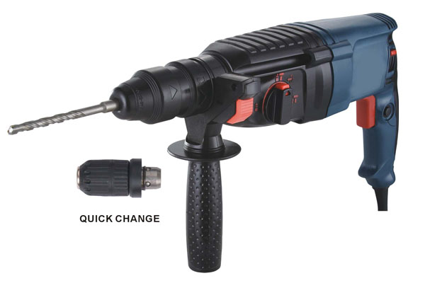 SDS-PLUS Rotary Hammer Model No:2602