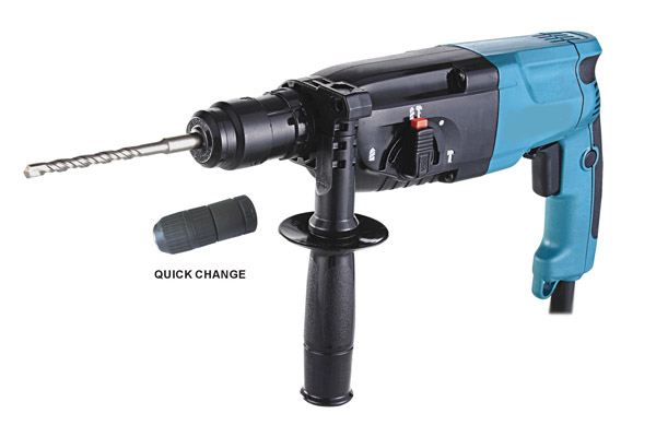 With Quick change chuck Rotary Hammer Model No:2415